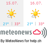 Wetter in Orselina
