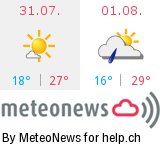 Wetter in Rebstein